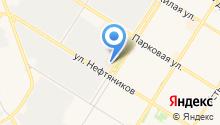 Пана на карте