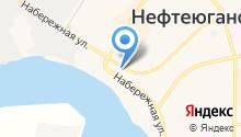 Усть-Балык на карте