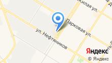 Калач на карте