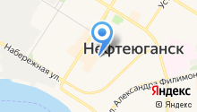 Нефтеюганск. Детская территория на карте