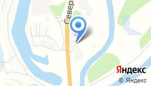 Гидросканд на карте