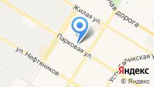 Ремонтная мастерская на ул. 10-й микрорайон на карте