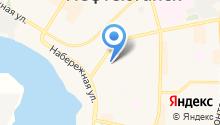 Наш город-Нефтеюганск на карте