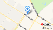 Автостоянка на ул. 10а микрорайон на карте