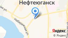 НЕФТЕГАЗ-Нефтеюганск на карте