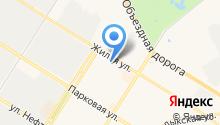 Фонд социального страхования РФ по Ханты-Мансийскому автономному округу-Югре на карте