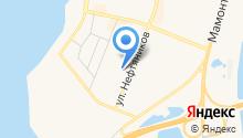 Югансксевер на карте