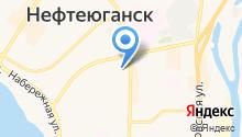 Государственная инспекция по надзору за техническим состоянием самоходных машин и других видов техники Нефтеюганского района на карте