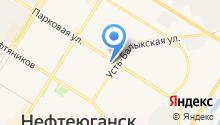 Городское агентство воздушных сообщений на карте