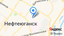 Турин-НК на карте