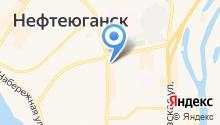 Пегас-Нефтеюганск на карте