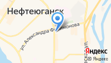 Сургутнефтегаз на карте