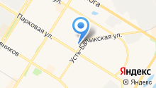 Адвокатский кабинет Чупрова А.В. на карте