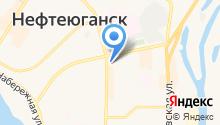 Топхарт на карте