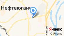 Нефтеюганский центр занятости населения Ханты-Мансийского автономного округа-Югры на карте