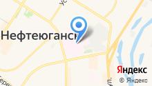Нефтеюганская окружная клиническая больница им. В.И. Яцкив на карте