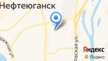 Триан на карте