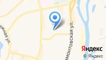 Лида на карте