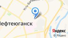 Отдел вневедомственной охраны по г. Нефтеюганску на карте