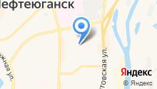 Управление социальной защиты населения Ханты-Мансийского автономного округа-Югры на карте