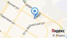 """""""Хаус"""" - Гостиница квратирного типа на карте"""