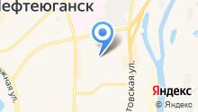 Бюро медико-социальной экспертизы по Ханты-Мансийскому автономному округу-Югре на карте