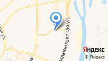 Магазин книг и канцелярских товаров на карте