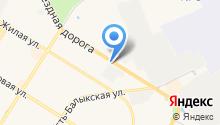 Тягач на карте