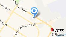 6 отряд Федеральной противопожарной службы по Ханты-Мансийскому автономному округу-Югре на карте