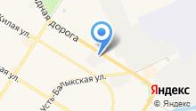 Автогласс bitstop на карте