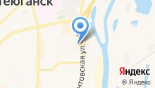 Сургутская замочная компания на карте