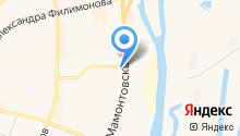 Днёр на карте