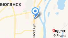 Коттон на карте