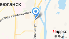 Норд на карте
