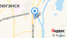 ЮМАСТ на карте