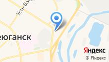Отделение МВД по г. Нефтеюганску на карте