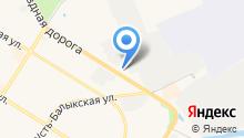 Шиномонтажная мастерская на Объездной дороге на карте