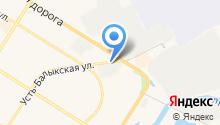 Полярис на карте