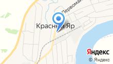 Участковый пункт полиции Отдела МВД России по Любинскому округу на карте
