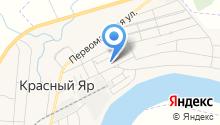 Красноярская городская библиотека на карте