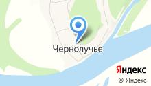Чернолучье на карте