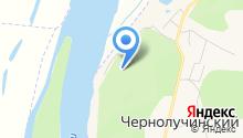 Иртышские зори на карте