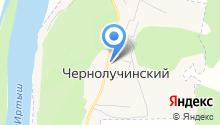 Чернолучинский дом культуры на карте