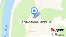 Администрация Чернолученского городского поселения на карте