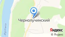 Чернолучинский фельдшерско-акушерский пункт на карте