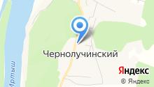 Чернолучинское отделение полиции на карте