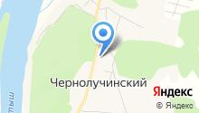 Чернолученская средняя общеобразовательная школа на карте
