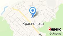 Красноярская средняя общеобразовательная школа Омского муниципального района Омской области на карте