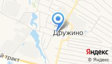 Администрация Дружинского сельского поселения на карте