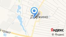 Дружинская средняя общеобразовательная школа на карте